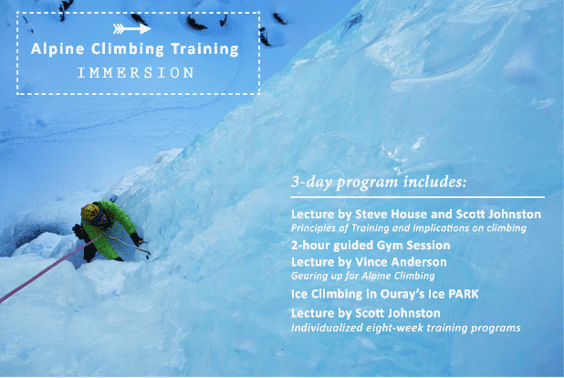Training for Alpine Climbing IMMERSION
