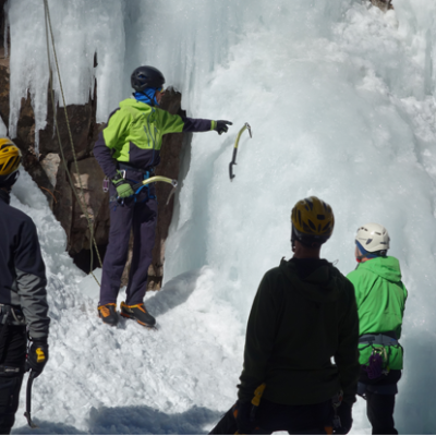 Fundamentals of Alpine Climbing, Ice Climbing Intro, Ice Course, Beginner